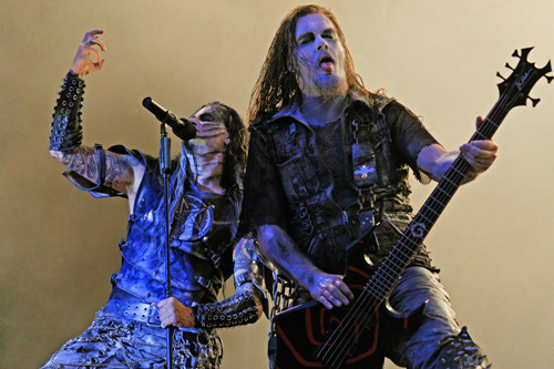 Dimmu Borgir live, With Full Force 2009
