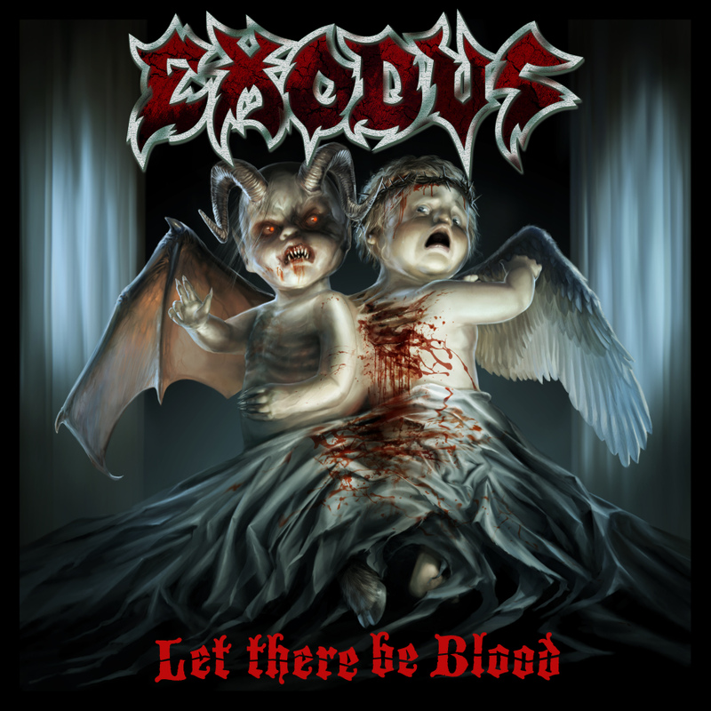 Exodus, Let There Be Blood, Cover