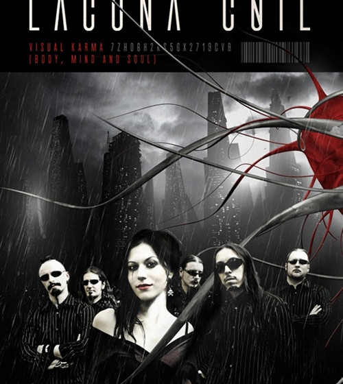 DVD Cover Visual Karma Lacuna Coil