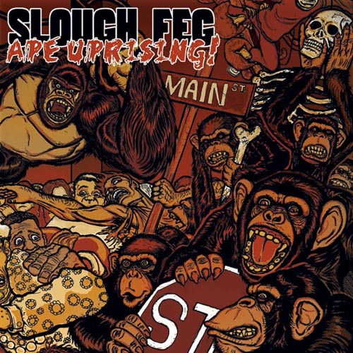 Slough Fegs CD-Cover zu Ape Uprising!