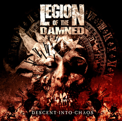 Descent Into Chaos CD-Cover
