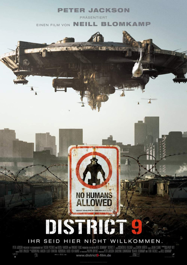 DISTRICT 9-Cover