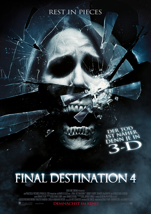 FINAL DESTINATION 4 – 3D Filmposter