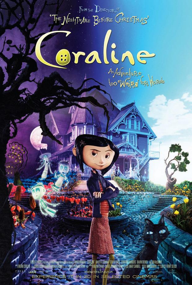 Coraline 3D-Poster