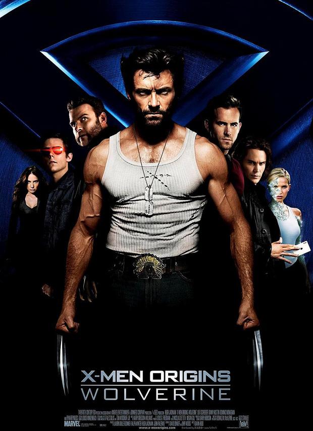 X-MEN ORIGINS: WOLVERINE-Filmposter