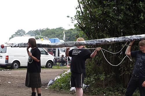 Wacken 2009 - Eindrücke vom Gelände