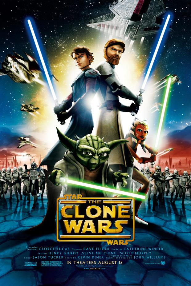 Star Wars – Clone Wars Filmposter