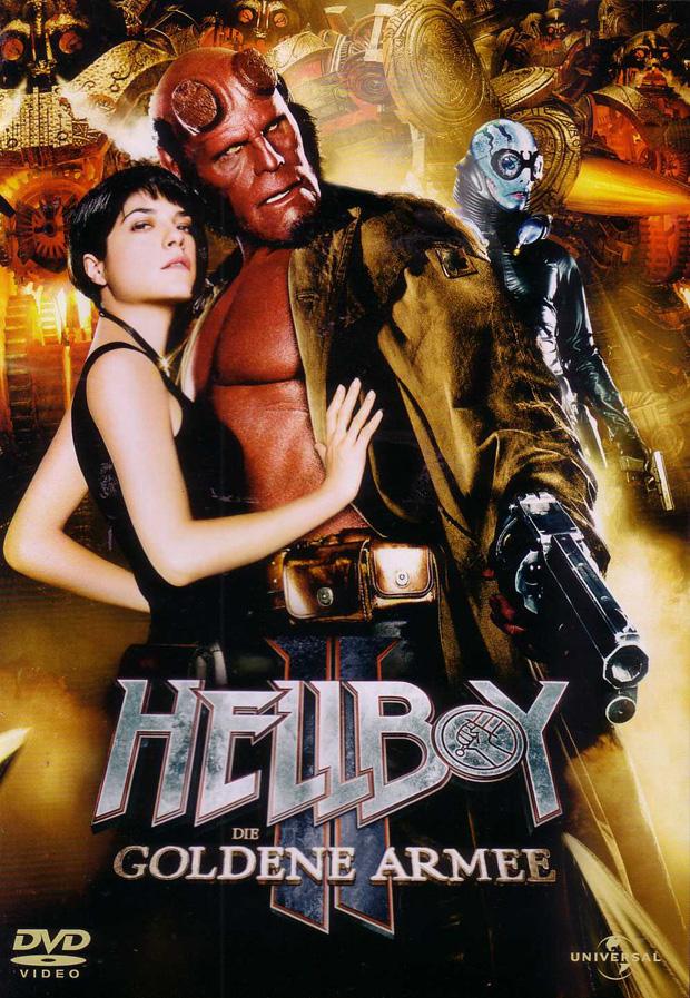 HELLBOY 2: DIE GOLDENE ARMEE DVD-Cover