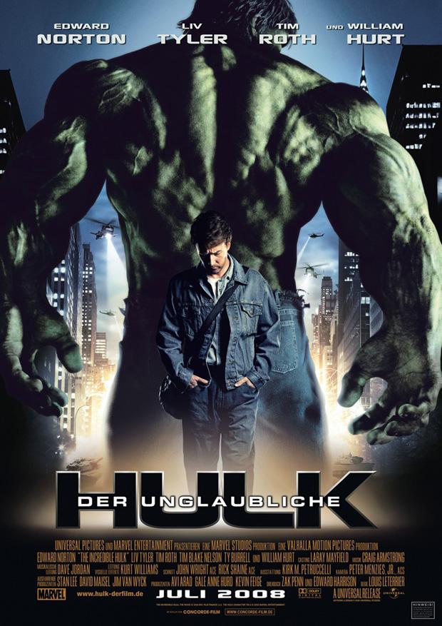 Der unglaubliche Hulk Filmposter