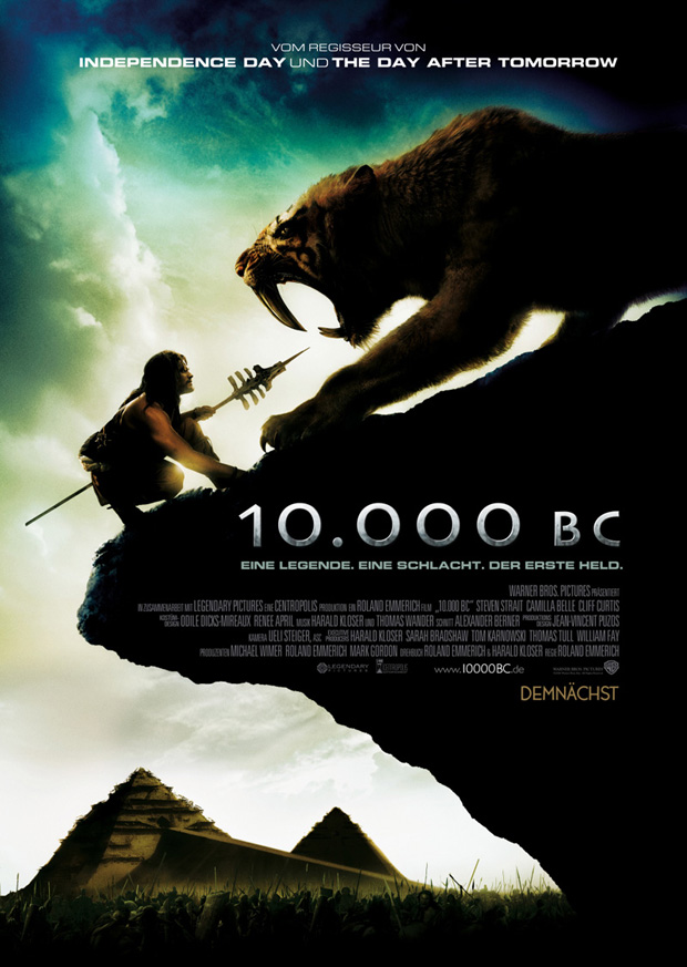 10.000 BC Filmposter