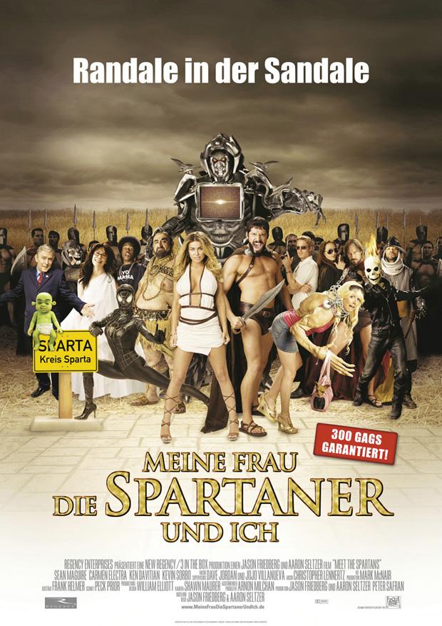 Meine Frau, die Spartaner und Ich Filmposter