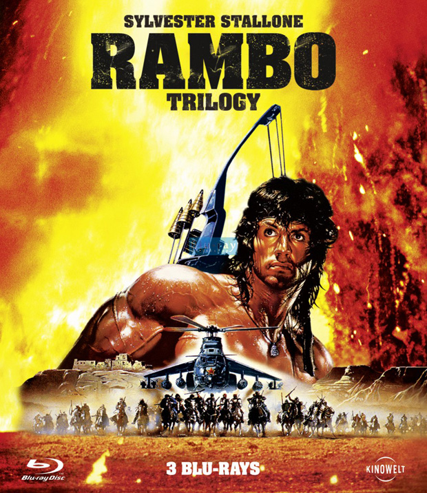 Rambo Trilogy Blu-Ray-Cover