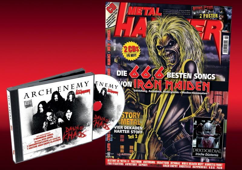 Arch Enemy im Metal Hammer