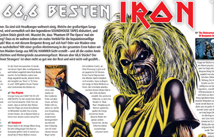 Iron Maiden Metal Hammer 05 11