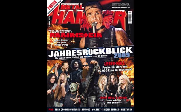 Metal Hammer Januar 2010