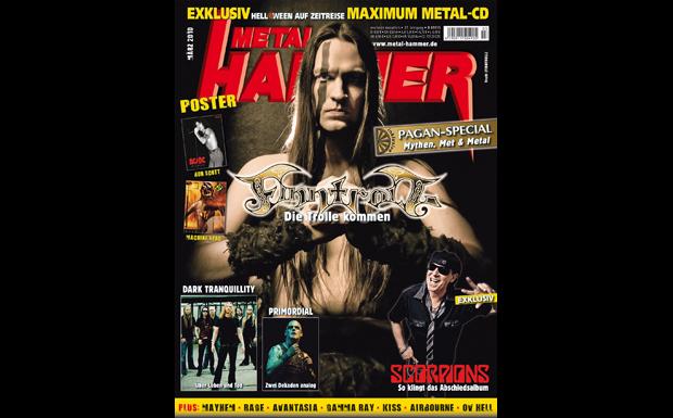 Metal Hammer März 2010