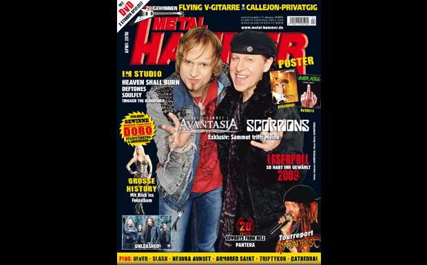 Metal Hammer April 2010