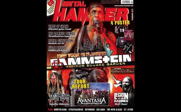Metal Hammer Februar 2011