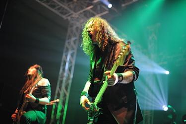 Helloween live, Oberhausen April 2011