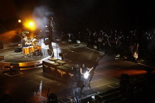 Metallica live in Berlin, 12.09.2008