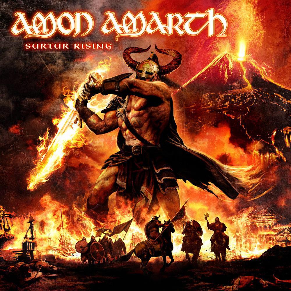 Amon Amarth SURTUR RISING Cover
