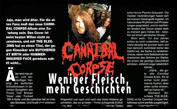 Cannibal Corpse, Interview aus Heft 5/1994
