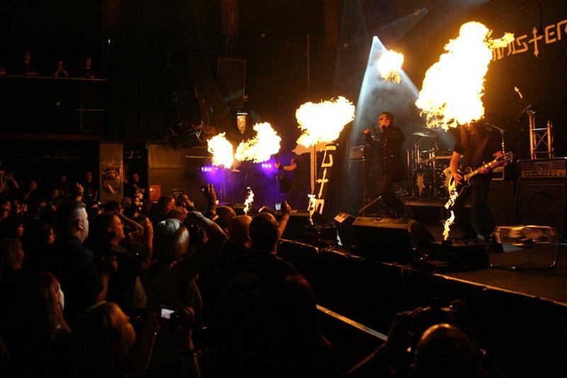 Gothminister live, Inferno Festival 2011