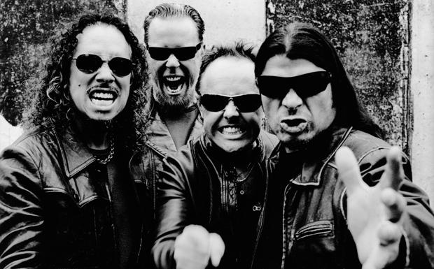 Metallica Promo Bild 2008
