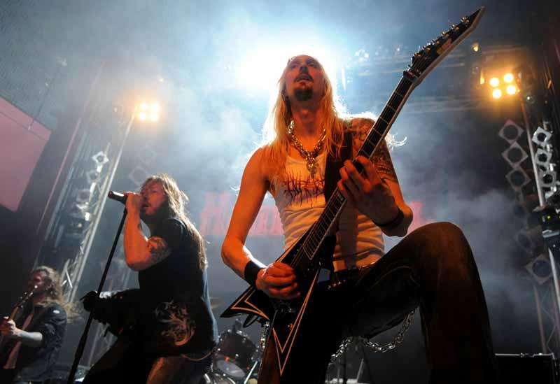 Hammerfall live, 28.04.2011 Hamburg, Gruenspan