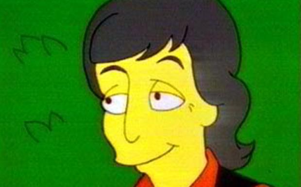 Paul McCartney bei den Simpsons