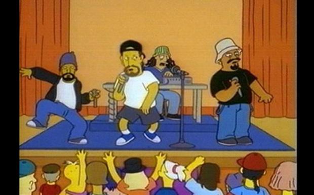 Cypress Hill bei den Simpsons