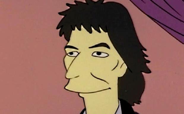 George Harrison bei den Simpsons