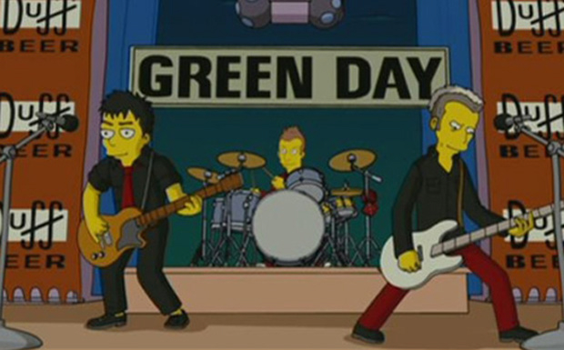 Green Day bei den Simpsons
