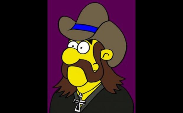 Lemmy Kilmister von Motörhead bei den Simpsons
