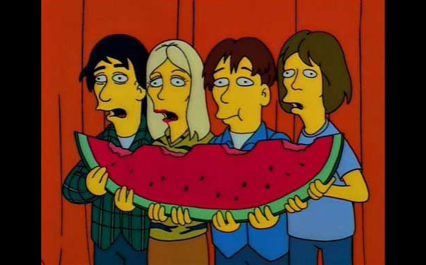 Sonic Youth bei den Simpsons