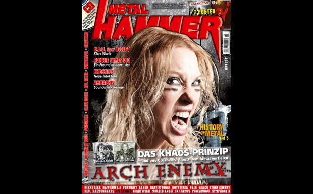 Metal Hammer Juni 2011 mit Arch Enemy