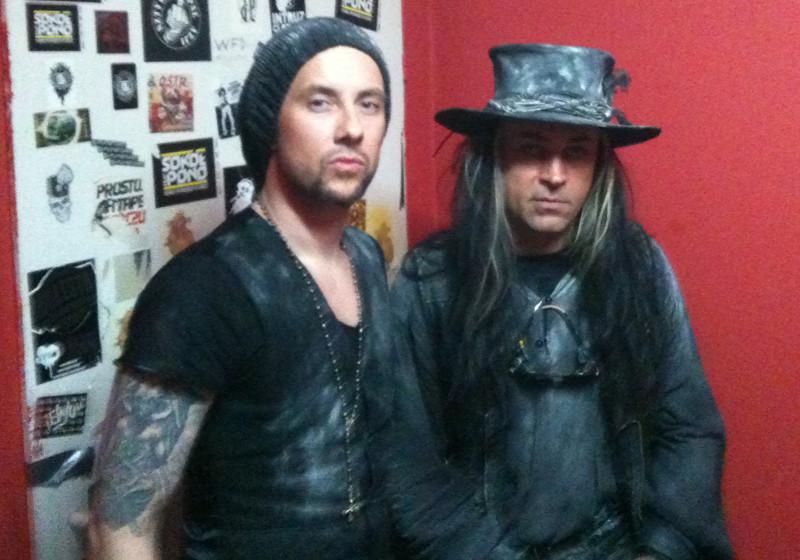 Behemoth Nergal mit Fields Of The Nephilim