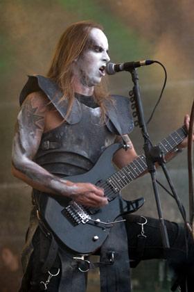 Behemoth, Nergal live Summer Breeze 2008