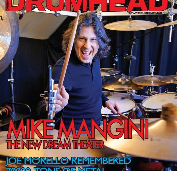 Drumhead-Titel mit Mike Mangini von Dream Theater