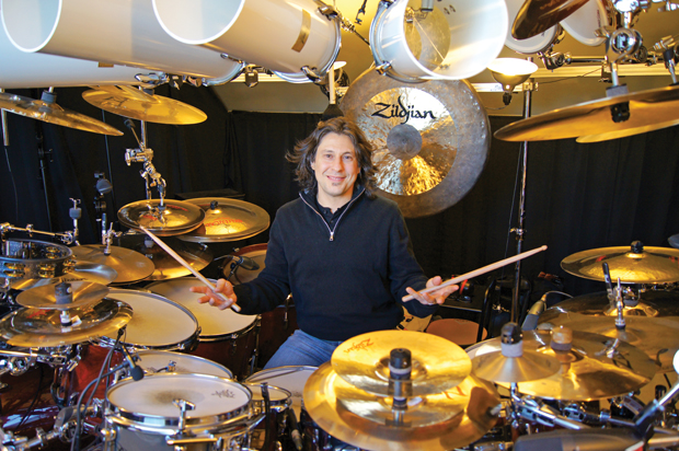 Dream Theater, Mike Mangini Promo Bild