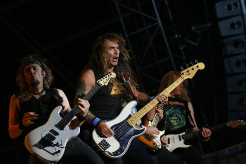 Iron Maiden live beim Wacken Open Air 2008