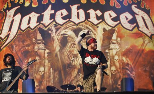 Hatebreed live, 25. bis 27. Juni 2010