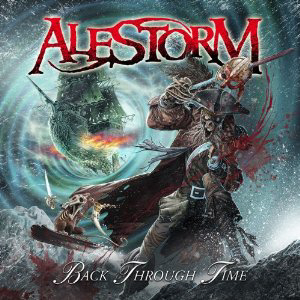Alestorm Back Through Time Cover