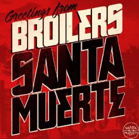 Broilers Santa Muerte Cover
