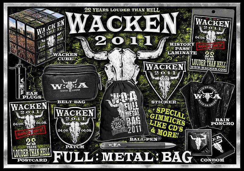 Der Wacken Metal Bag 2011