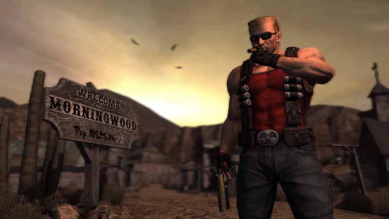 Duke Nukem Forever, Screenshot
