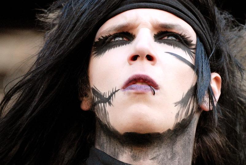 Black Veil Brides, live, Rock am Ring 2011