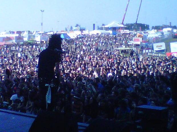 Black Veil Brides beim Rock am Ring / Rock im Park 2011
