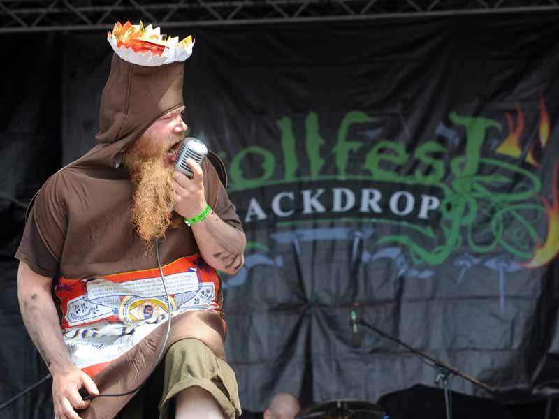 Trollfest, Metalfest Dessau, 2011
