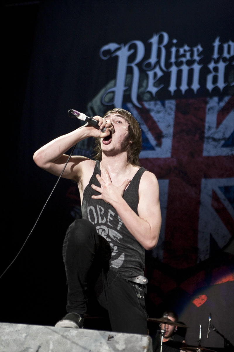 Rise To Remain live, 28.05.2011 Frankfurt, Festhalle